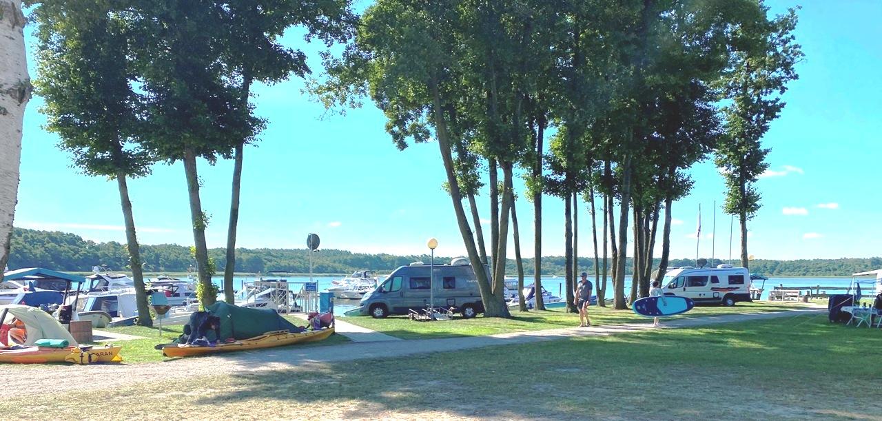 Campingplatz direkt am Jabeler See