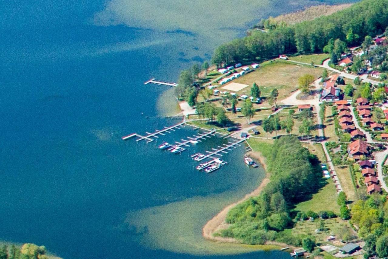 Campingplatz direkt am Jabeler See mit Gästesteganlage